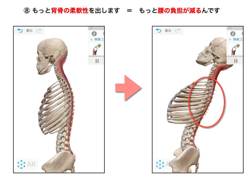 胸椎伸展モビライゼーション